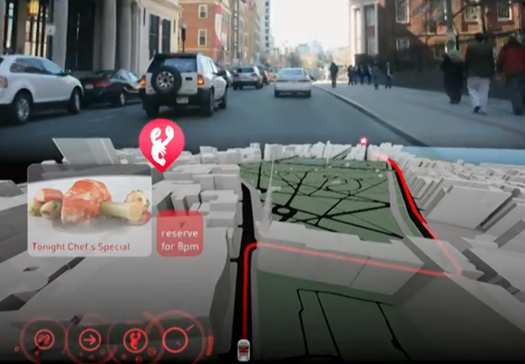 Video: MIT's New Nav System Turns the Entire Dashboard into a Huge 3-D Interactive Display