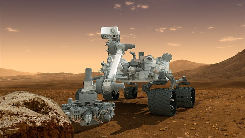 The Mars Curiosity Rover Is Starting To Make Its Own Decisions