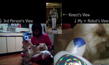 Video: Groombot Brushes Cat, Ushering in a New Era of Remote Robo-Petting