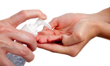 You might be overusing hand sanitizer