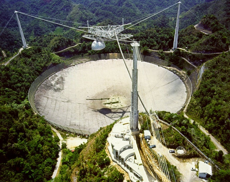 Historic Space Images From The Arecibo Observatory