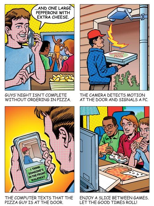 Build It: The Pizza Cam