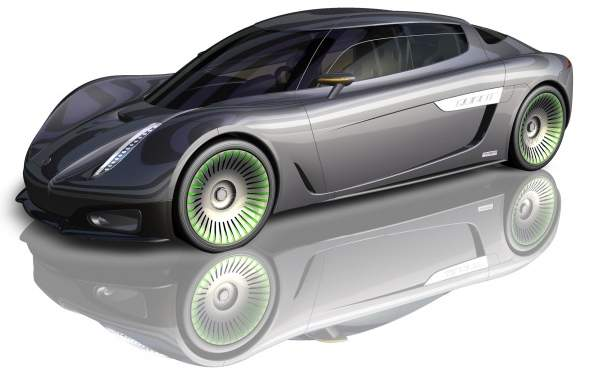 Car of the Auto Industry of the Future: Koenigsegg-Saab Quant