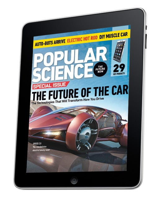 May Issue of Popular Science+ For the iPad Now in App Store