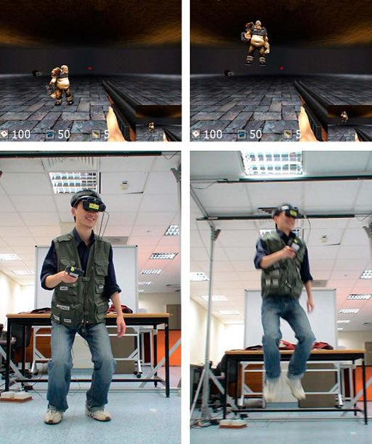 Immersive Multiplayer Gaming System Integrates Virtual and Physical Worlds