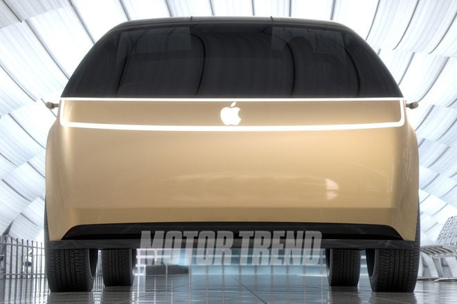 Motor Trend's speculative concept of the Apple Car