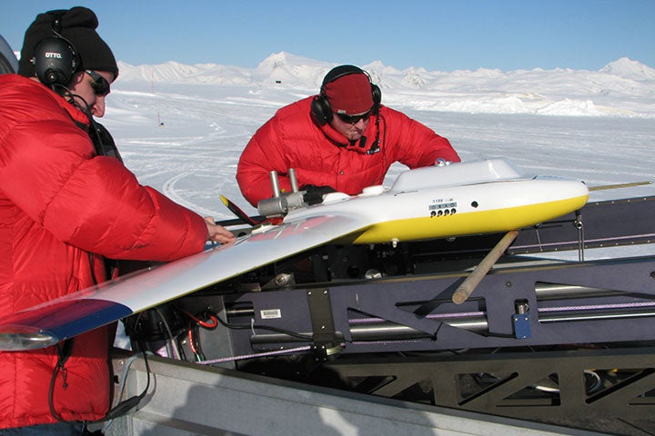 Drones Fly Over Melting Arctic Ice For Science