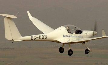 First Manned, Hydrogen-Powered Flight