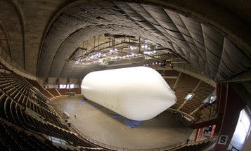 Video: World's Biggest Airship Inflated for the First Time