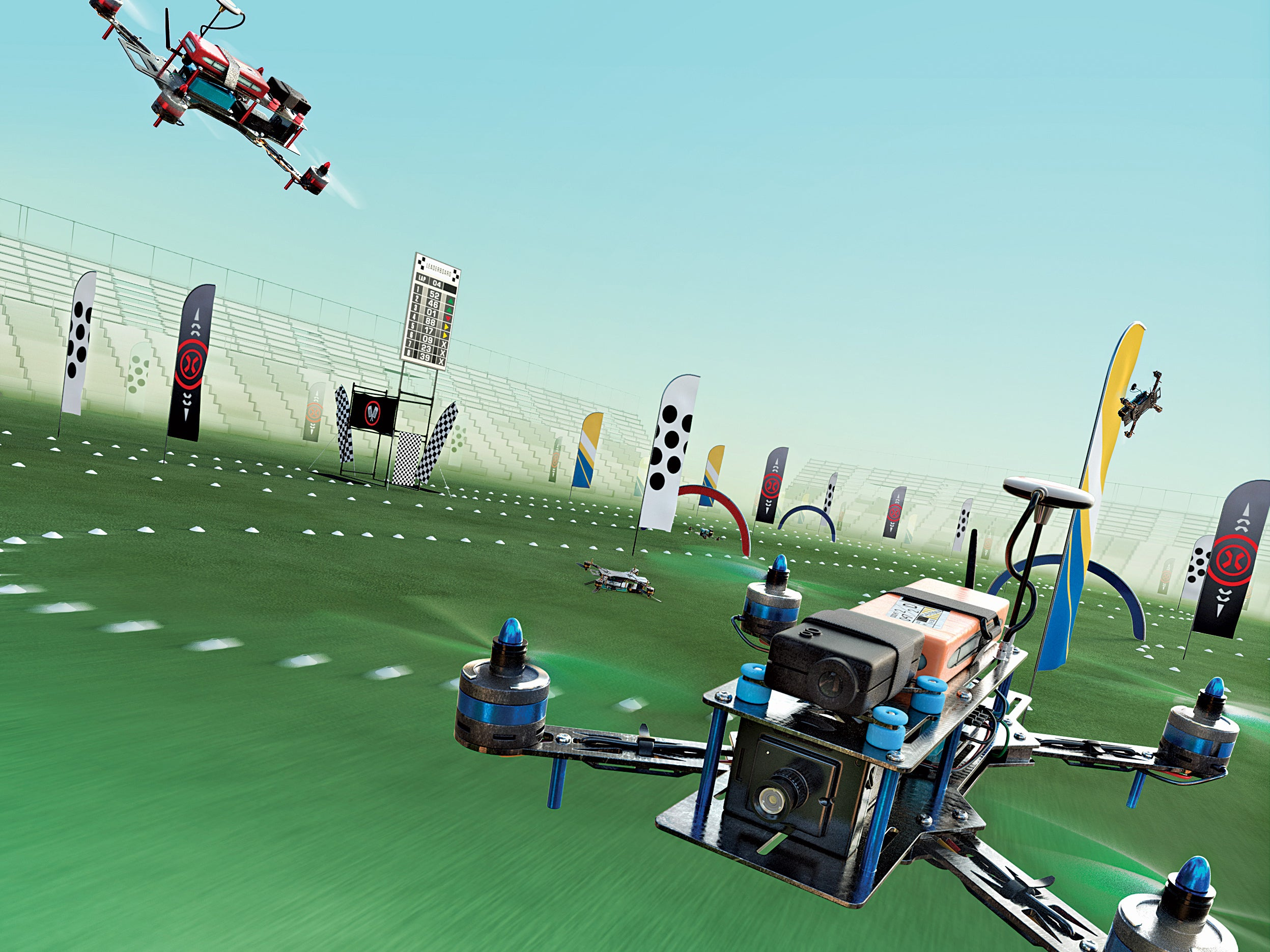 Drone Racing Takes Off