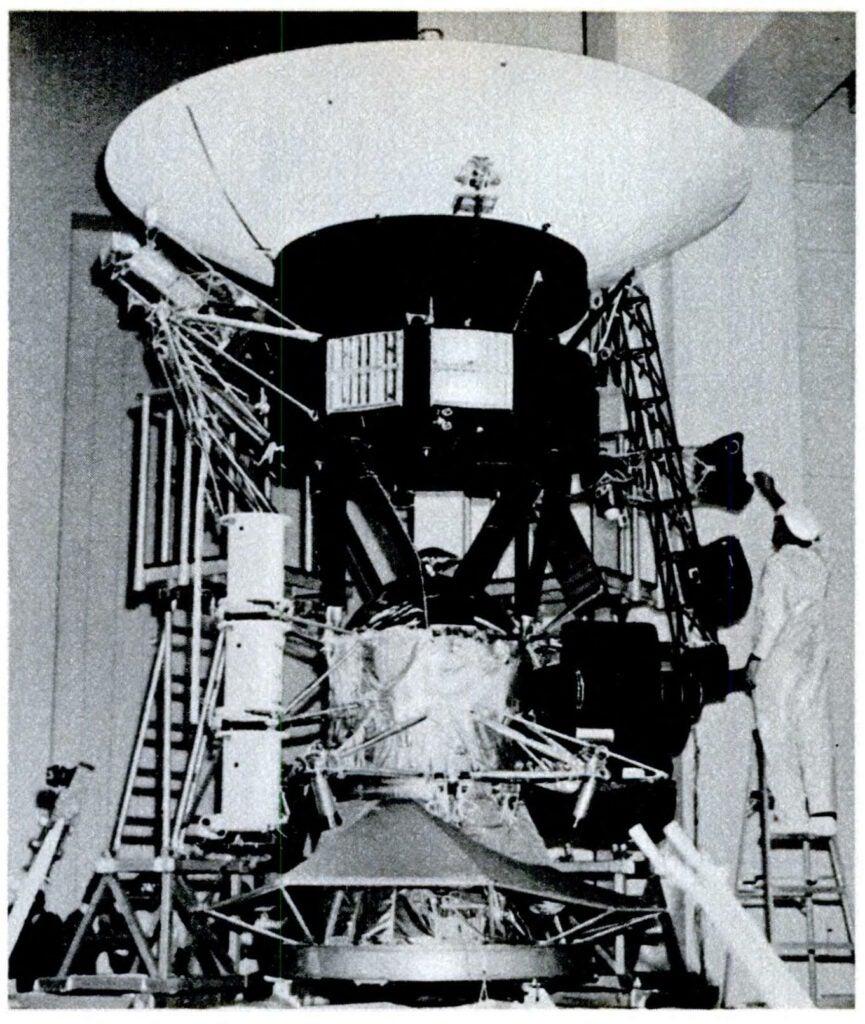 Voyager Spacecraft at NASA's Jet Propulsion Laboratory