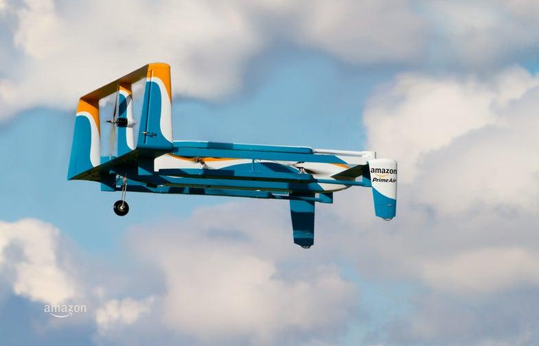 Amazon Will 'Immediately' Begin Testing Delivery Drones In The U.K.