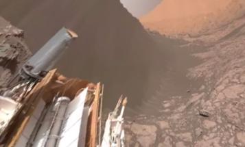 NASA Releases Breathtaking 360-Degree Video of Mars