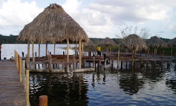 Mud at the bottom of a Mexican lake holds secrets about the Maya empire's demise