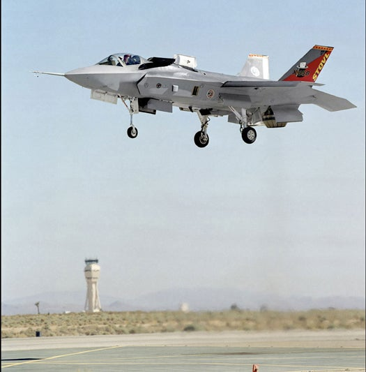 Video: F-35 Performs Its First Fully Vertical Landing