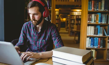 Music only helps you concentrate if you're doing the right kind of task