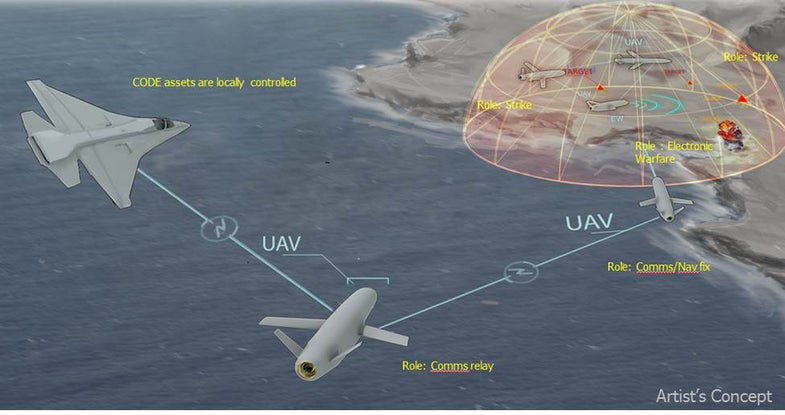DARPA Wants Drones To Hunt In Packs
