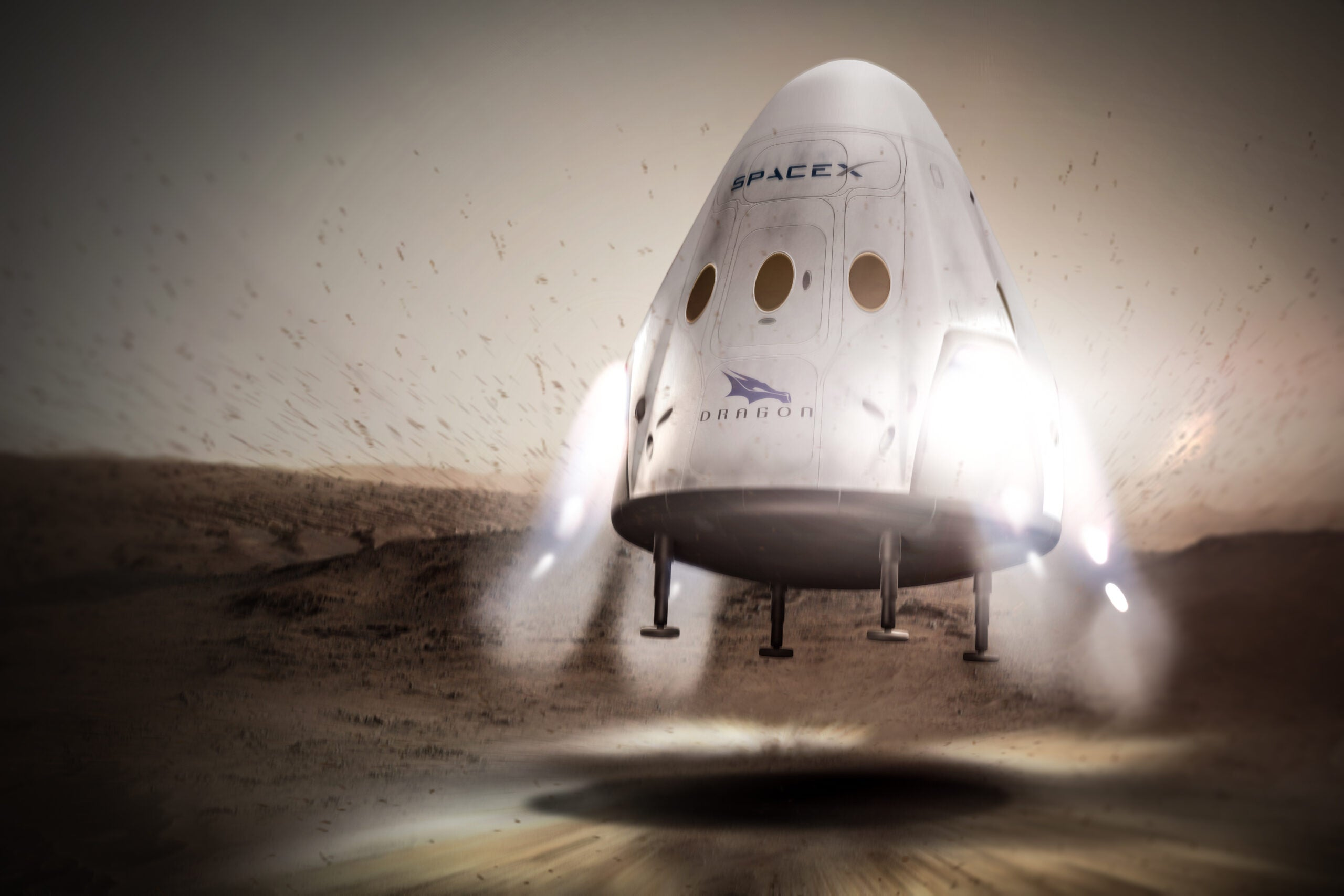 SpaceX is changing up its plans for landing a spaceship on Mars