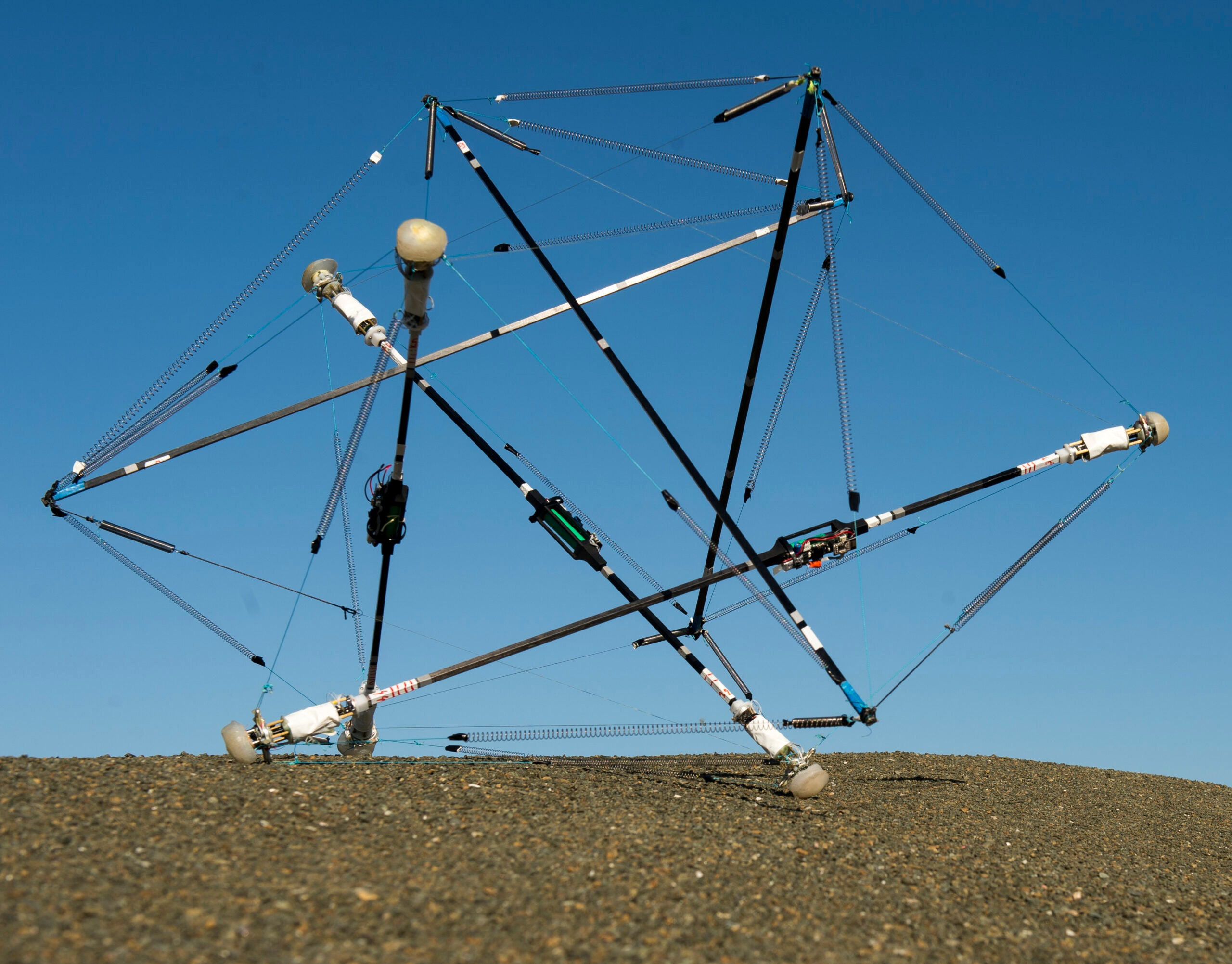 This Weird Tumbleweed Robot Might Change Planetary Exploration