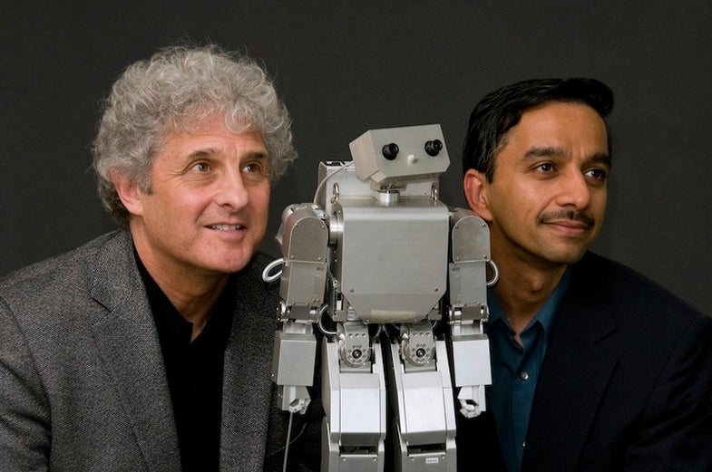In New Study, Babies Think A Silvery Robot Is Human, As Long As It Acts Friendly