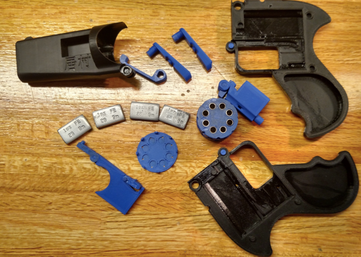 Imura Revolver v2 Unassembled