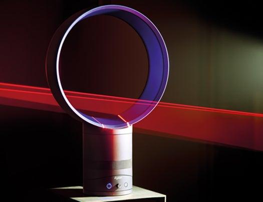 Dyson's Bladeless Airfoil Desk Fan Ends the Menace of Choppy Air