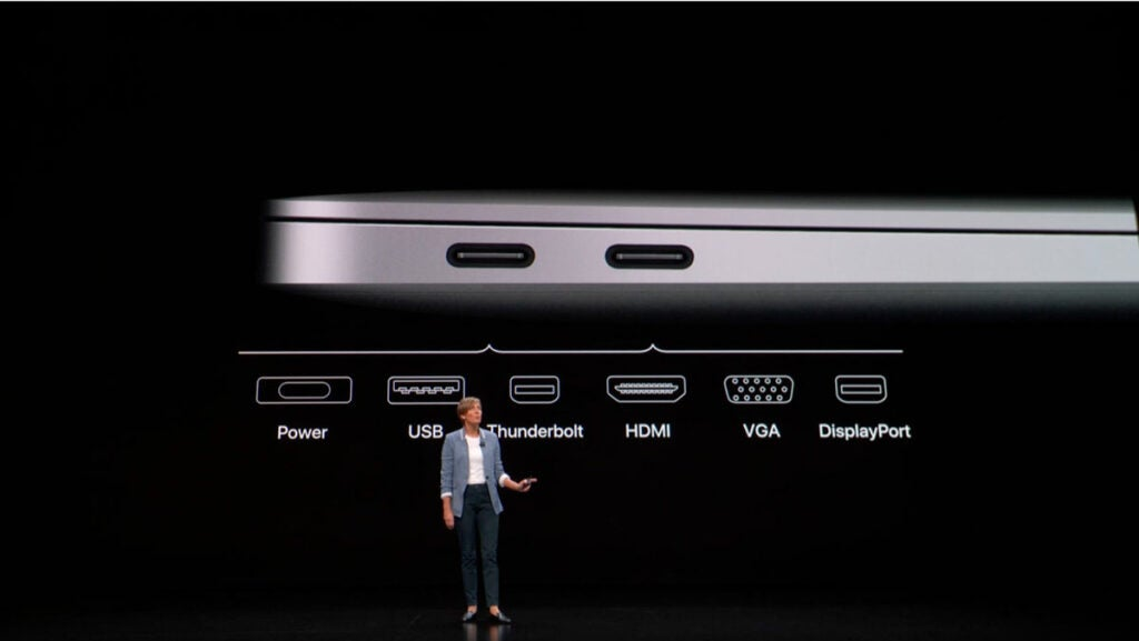 Dongles coming