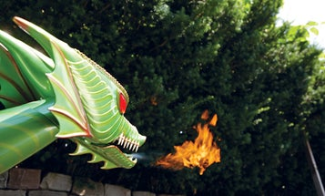 You Built What?!: A Fire-Breathing, Jet-Powered Dragon