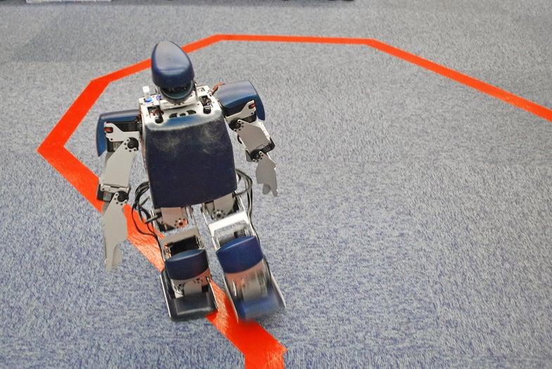 Video: Watch a Robot Run A Marathon, Through the Robot's Eyes