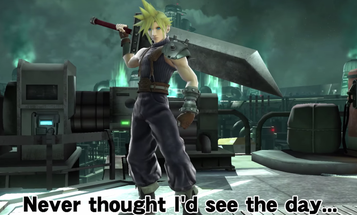 Gamers Unite: 'Super Smash Bros' Gets Cloud From 'Final Fantasy' And More