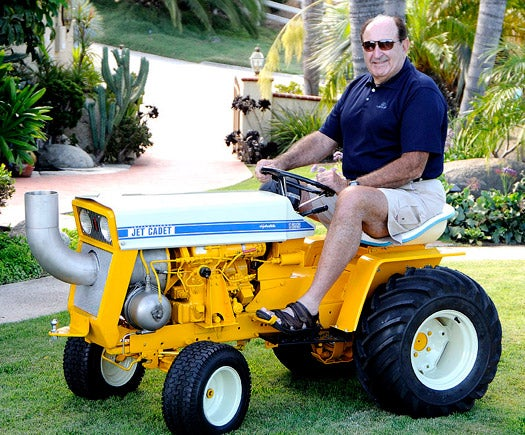Reader Project of the Month: The Jet-Powered Lawn Tractor