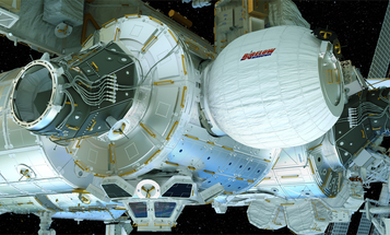 Inflatable Addition To The Space Station Will Launch In April