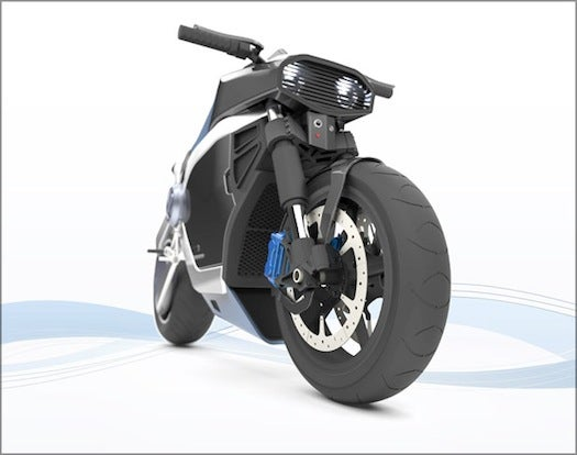 This Concept Electric Motorcycle Recharges In 10 Minutes