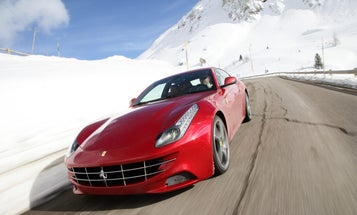 Putting the Ferrari FF Through Its Paces, High in the Italian Alps