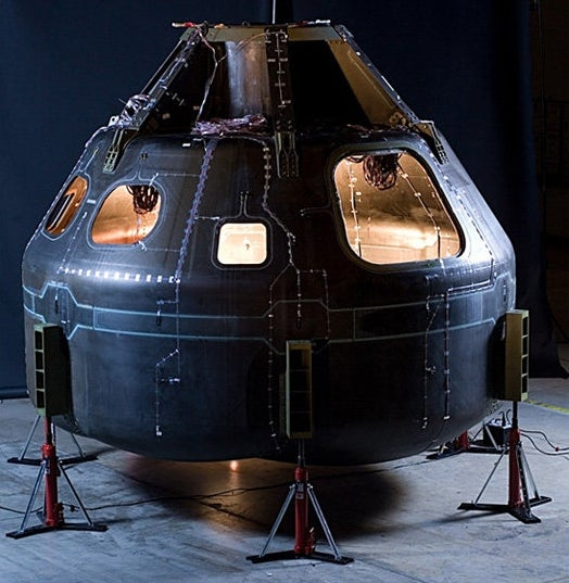 NASA Tests All-Composite Material Version of its Orion Space Module