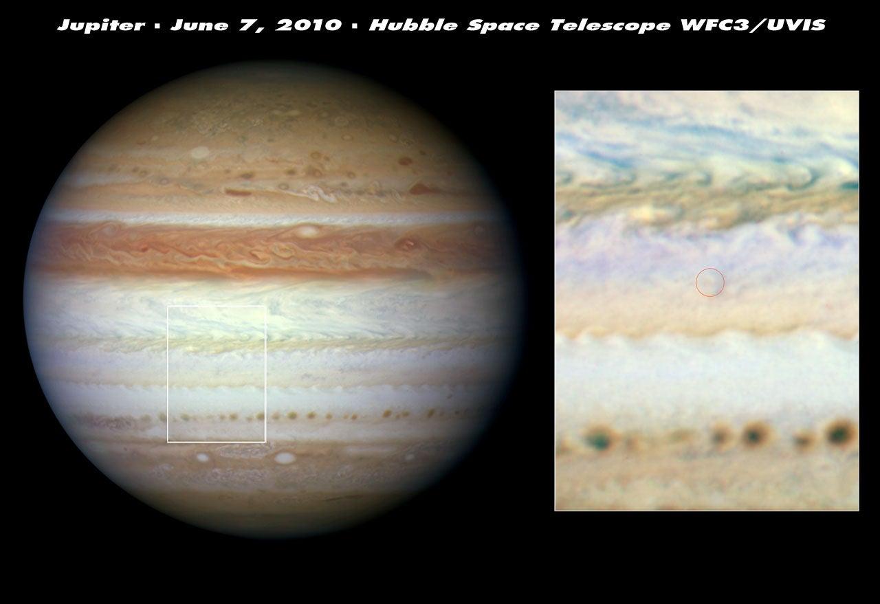 Jupiter's Belt, Believed Missing Last Month, Has Been Found (Sort Of)