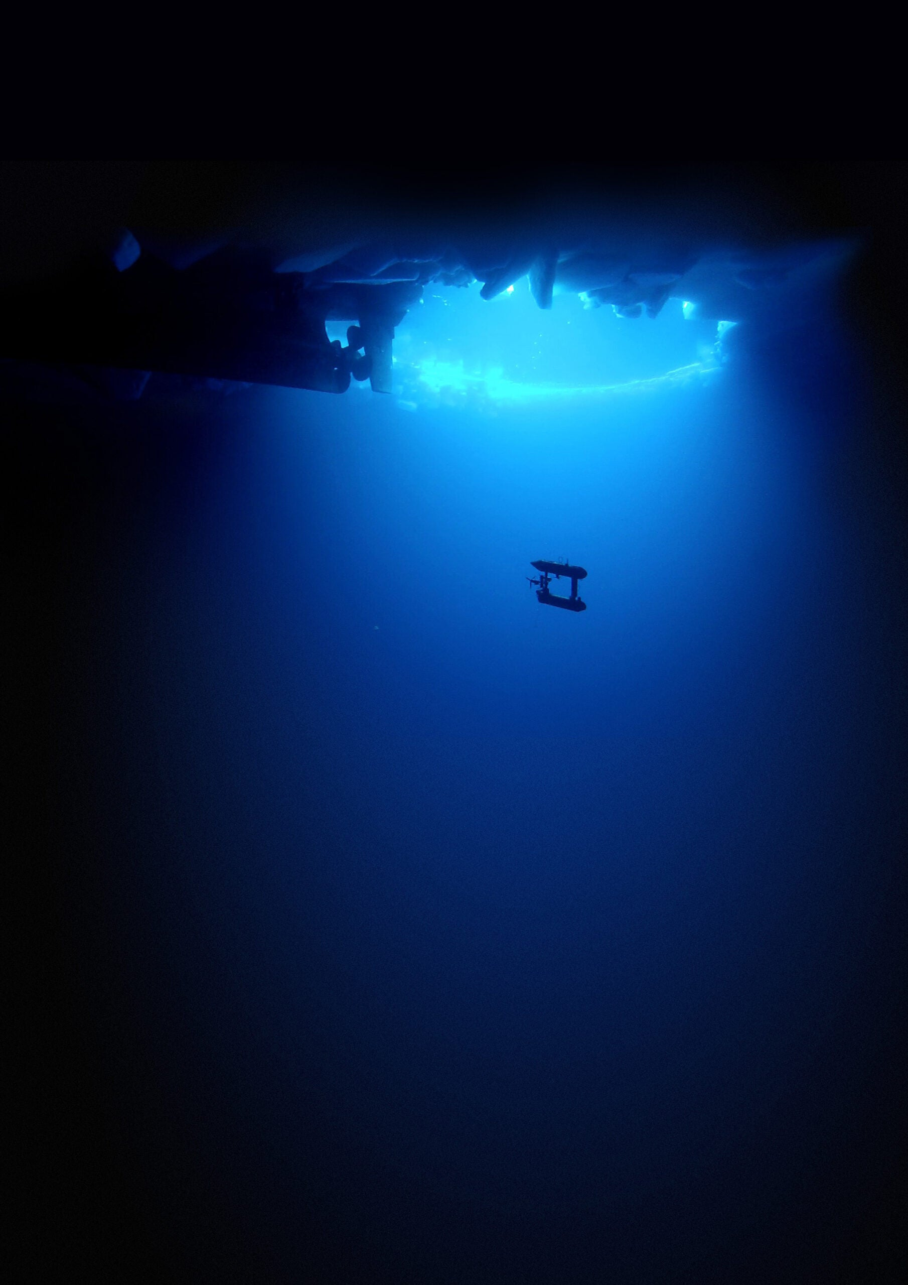 Underwater Robot Maps Polar Ice In 3-D