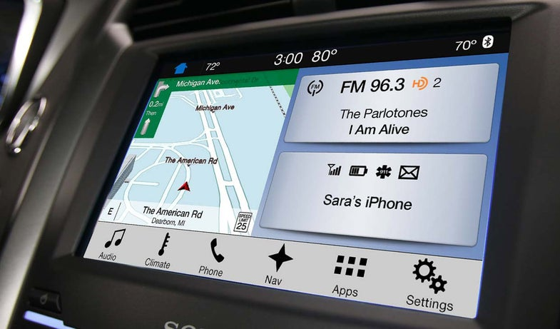 A look at the Ford Sync 3 system