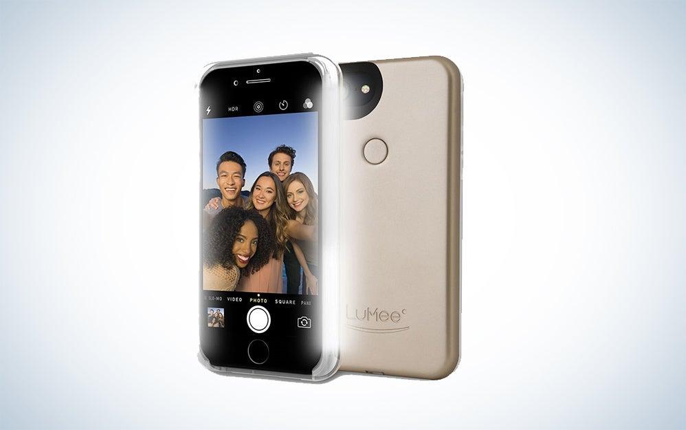 LuMee selfie phone case