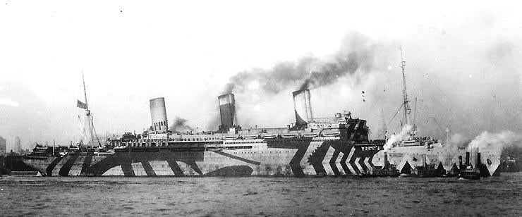 WWI-Era Dazzle Camouflage Could Protect Modern Military Vehicles Even Better than Old Ones