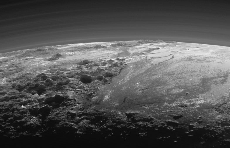 Pluto's Surface May Be Alive Thanks To Planetary Antifreeze