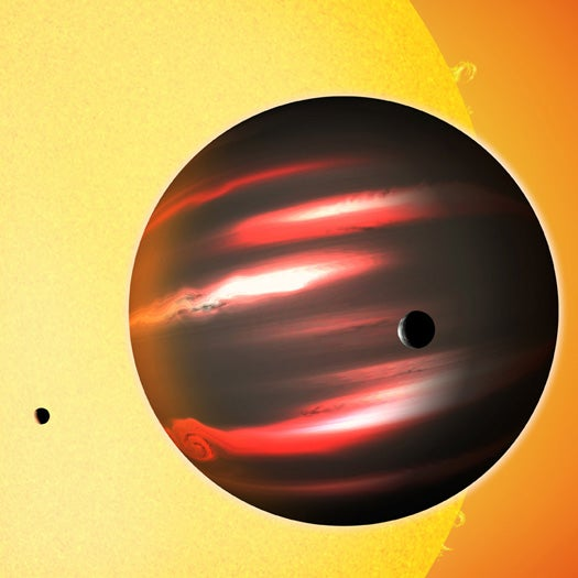 Blackest Planet Ever Found, Absorbs Nearly 100% of Light That Reaches It