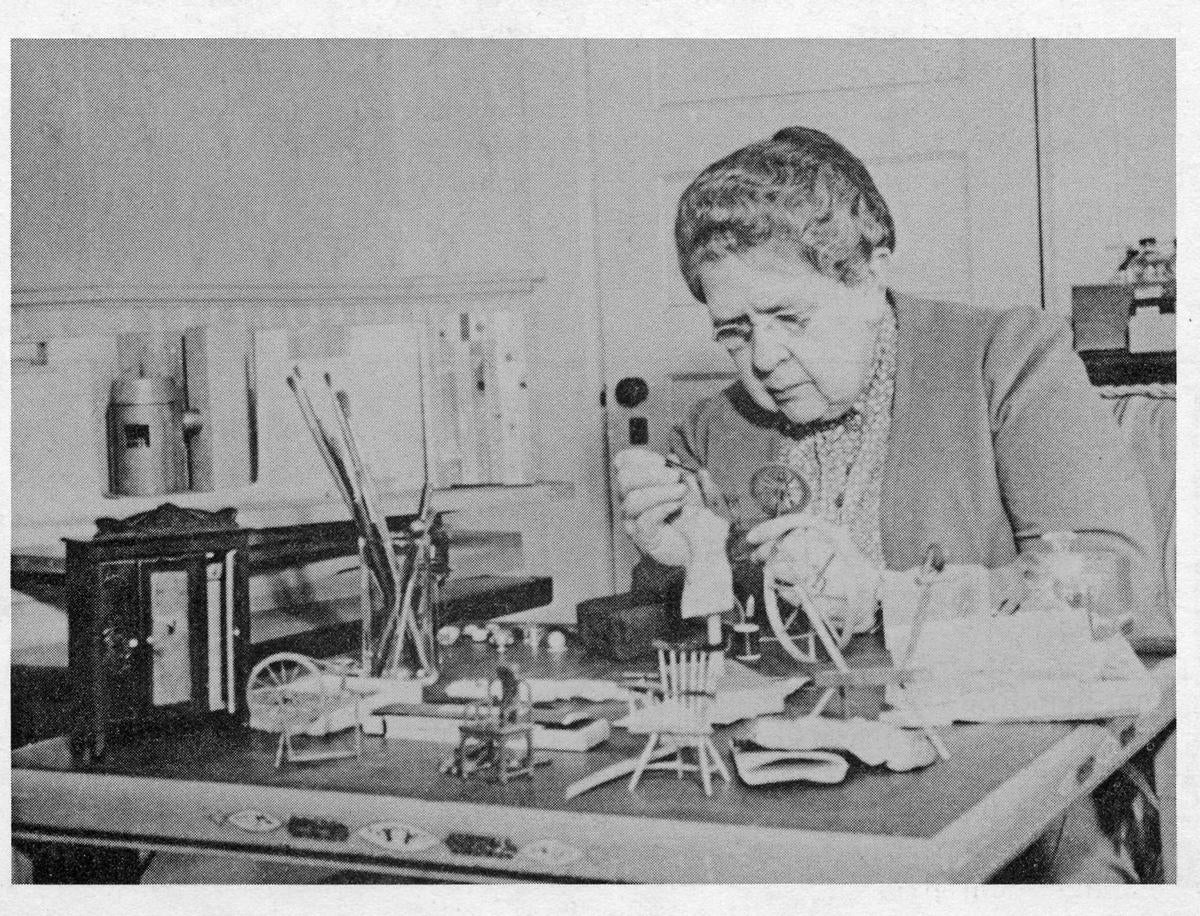 The 'Mother Of Forensic Science' Built Dollhouse Crime Scenes
