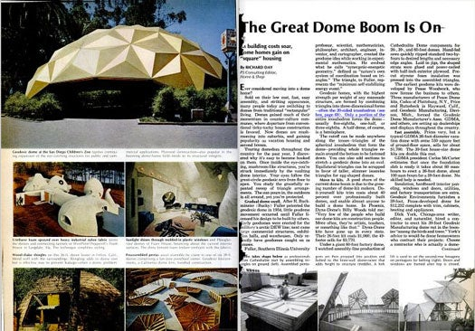 Great Dome Boom: February 1972