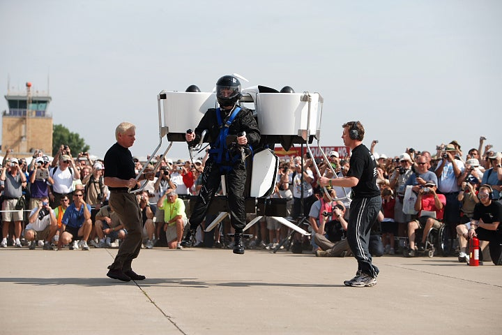 Flight of the Jetpack