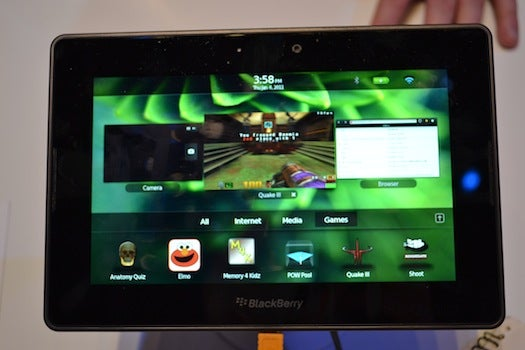 Hands On With the BlackBerry PlayBook: A Seriously Impressive Multitasker