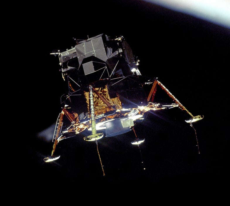 How the Apollo lunar modules were smashed for science