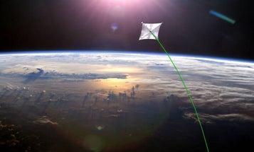 NASA Will Launch A 13,000-Square-Foot Solar Sail Next Year