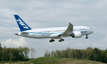 Boeing's 787 Dreamliner Makes Its First Flight (On Time, Too)