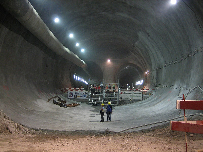 After 14 Years of Drilling, the World's Longest Tunnel Breaks Through the Swiss Alps Today